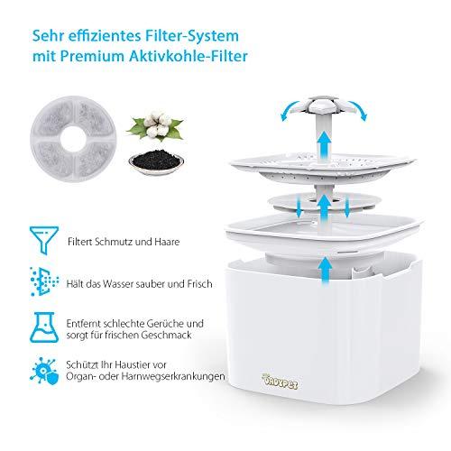 katzentrinkbrunnen plastik filter