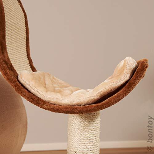 kratzbaum modernes design sisal bontoy