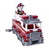 PAW Patrol Ultimate Rescue Basis Fahrzeug mit Figur - Marshall