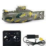 Yxp 6-Kanal wasserdichte Mini RC U-Boot Ferngesteuertes Boot...