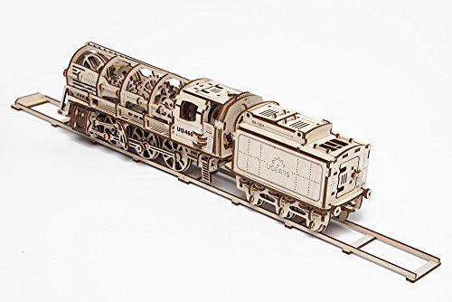 mechanisches holzspielzeug ugears lokomotive test