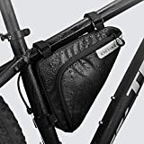 Roswheel Radtasche Triangle Bag, Fahrradtasche Rahmentasche 1.5...*