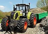 WIM-SHOP RC Traktor CLAAS Axion 870 + Anhänger in XL Länge 72cm...