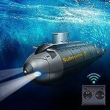 JIESEN RC ferngesteuertes Mini U-Boot, RC Schiff mit drahtloses...