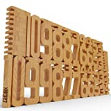 CALCULIX Premium Zahlenbausteine Montessori Spielzeug Made in EU...