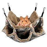 Aceshop Hängematte für Kleintiere, Weiche und Warme Haustiere...