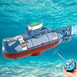 Seamuing Mini Fernbedienung U-Boot Wiederaufladbares RC-U-Boot...