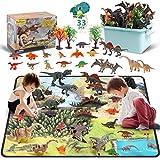 DigHealth 33 Pcs Dinosaurier Spielzeug Set, Figur Dinosaurier mit...